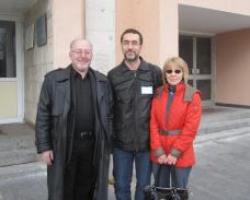 Oleg Ladyzhensky & the Best Translators of the Europe-2013: Patrice and Viktoriya Lajoie (France)