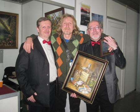 H. L. Oldie (the Best Authors of the Europe-2006) & Nikolai Redka (Ukraine, the Best Artist of the Europe-2013)